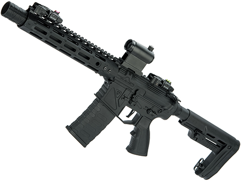 APS Phantom Extremis Mark V 2.0 eSilverEdge M4 Airsoft AEG with 10 M-LOK Handguard (Color: Black)