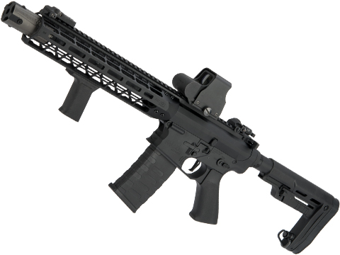 EMG Falkor AR-15 Blitz SBR Training Weapon M4 Airsoft AEG Rifle (Color: Black Out)
