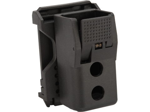 Quantum Mechanics Locking Double Stack 9mm / .40 Magazine Carrier (Model: Single Magazine / Glock Magazines)