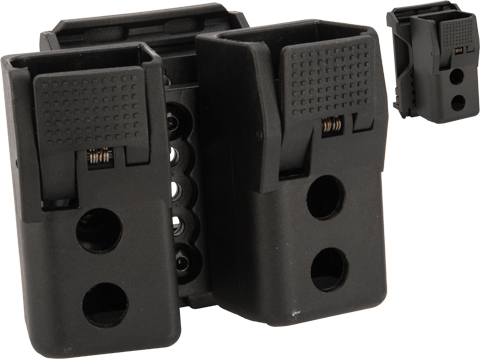Quantum Mechanics Locking Double Stack 9mm / .40 Magazine Carrier