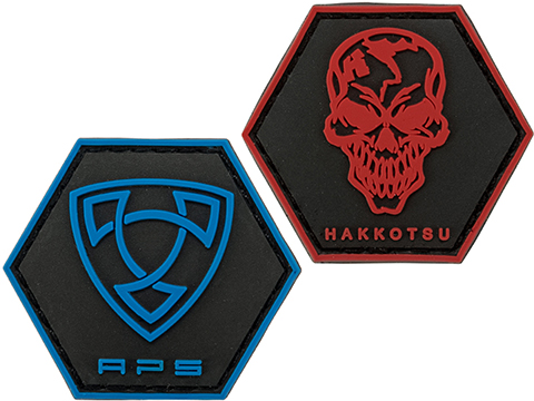 APS PVC Hex Shaped Morale Patch (Model: APS)