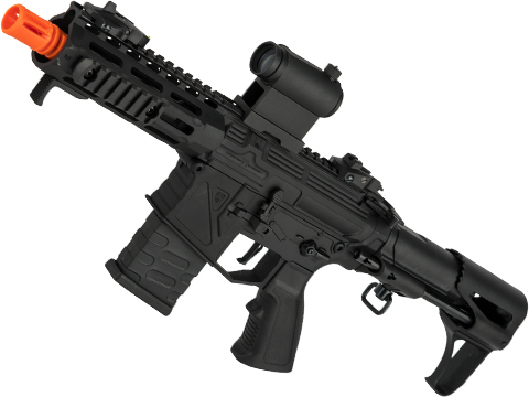 APS Phantom Extremis Mark VI 2.0 eSilverEdge PDW Style Airsoft AEG (Color: Black)