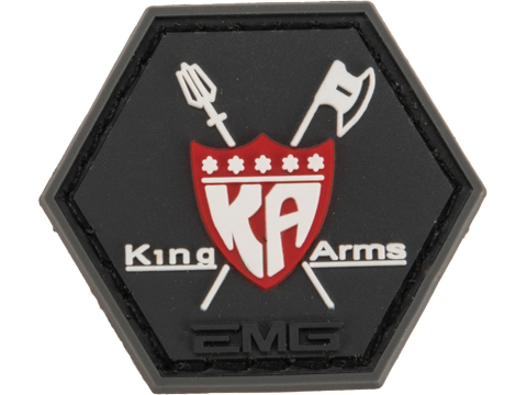 Operator Profile PVC Hex Patch Industry Series (Style: King Arms)