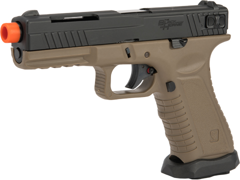 APS XTP Black Hornet Full Auto CO2 Powered Airsoft GBB Pistol (Color: Tan)