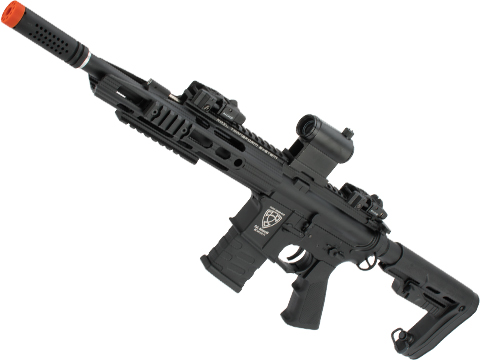 APS ASR111 Electric Blowback Airsoft M4 AEG with RS-2 Stock (Color: Black)