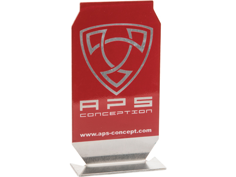 Evike.com / APS ePopper Practical Shooting Popper Targets (Package: APS Logo x1 / Red)