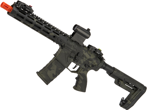 APS Phantom Extremis Mark V 2.0 eSilverEdge M4 Airsoft AEG with 10 M-LOK Handguard (Color: Multicam Black)