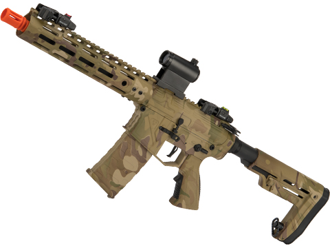 APS Phantom Extremis Mark V 2.0 eSilverEdge M4 Airsoft AEG with 10 M-LOK Handguard (Color: Multicam)