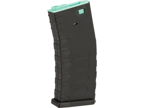 APS 300rd Hi-Capacity Training Magazine for M4 / M16 / UAR Series Airsoft AEG Rifles (Model: U-Mag / Turquoise Core)