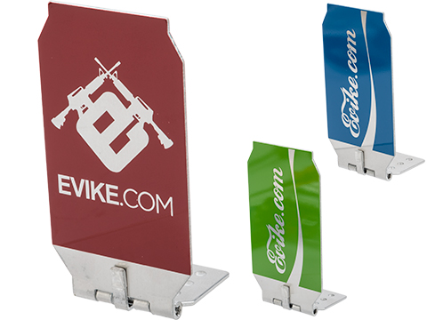 Evike.com ePopper Practical Hinged Shooting Popper Targets (Package: Evike Logo x1 / Red)