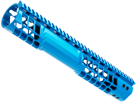 EMG F-1 Firearms Officially Licensed BDR Keymod Handguard for M4/M16 Series Airsoft AEGs (Color: Blue / 12.75)
