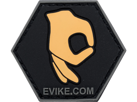 Operator Profile PVC Hex Patch Pop Culture Series (Style: Hey Look Here)