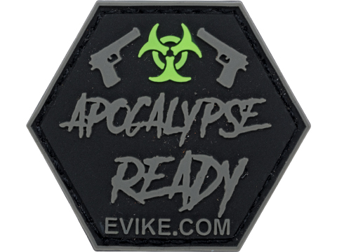Operator Profile PVC Hex Patch Catchphrase Series (Style: Apocalypse Ready)