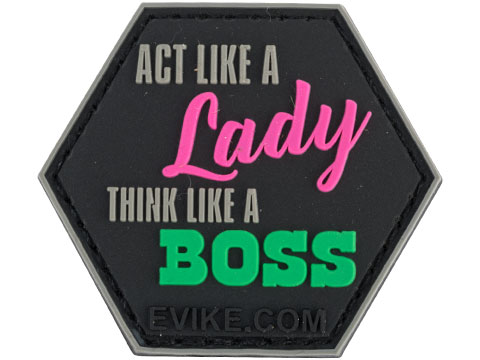 Operator Profile PVC Hex Patch Catchphrase Series 3 (Style: Lady Boss)