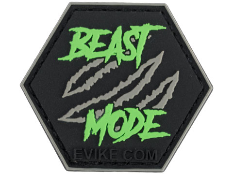 Operator Profile PVC Hex Patch Catchphrase Series 4 (Style: Beast Mode)