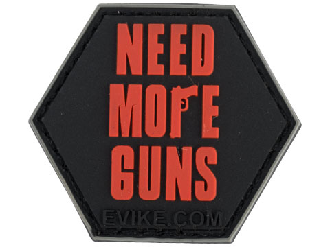 Operator Profile PVC Hex Patch Catchphrase Series 4 (Style: Need More Guns)