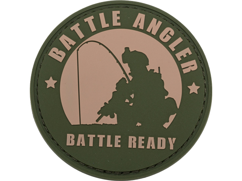 Evike.com Battle Angler - Battle Ready PVC Morale Patch