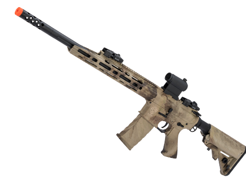 APS Guardian Match M4 Airsoft Electric Blowback AEG Sniper Rifle (Color: Atacs AU)
