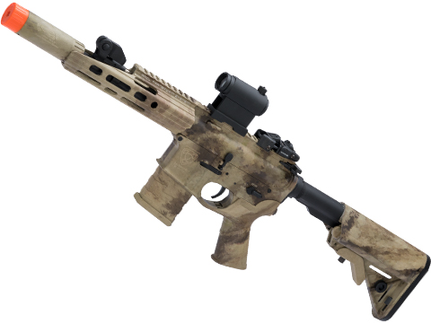 APS ASR112 Electric Blowback Airsoft M4 AEG (Color: ATACS AU / Crane Stock)