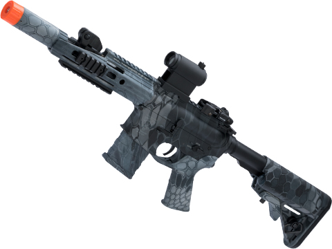 APS ASR112 Electric Blowback Airsoft M4 AEG (Color: Kryptek Typhon / Crane Stock)