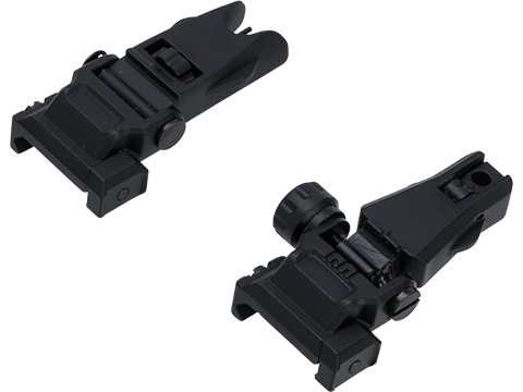 APS Hawk Flip-Up Back Up Sights for Airsoft Rifles