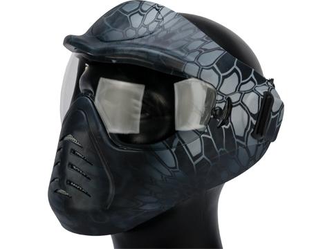 Matrix Space Anti-Fog Full Face Mask (Color:  Kryptek Typhon)