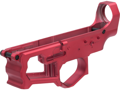 EMG F-1 Firearms Officially Licensed BDR Full Metal M4 Receiver (Color: Red / Lower)