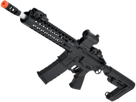 APS ASR114 2.0 eSilverEdge Full Metal 10 M4 Airsoft AEG Rifle with RS-1 Stock