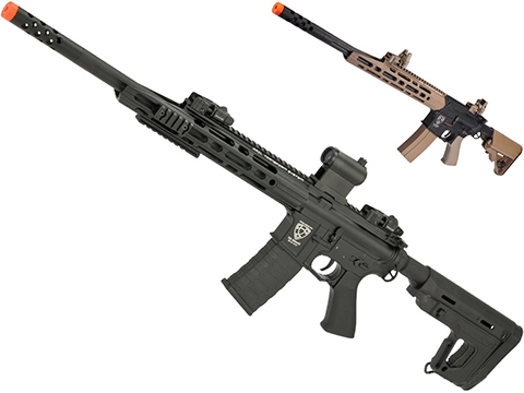 APS Guardian 2.0 eSilverEdge Match M4 Airsoft AEG Marksman Rifle