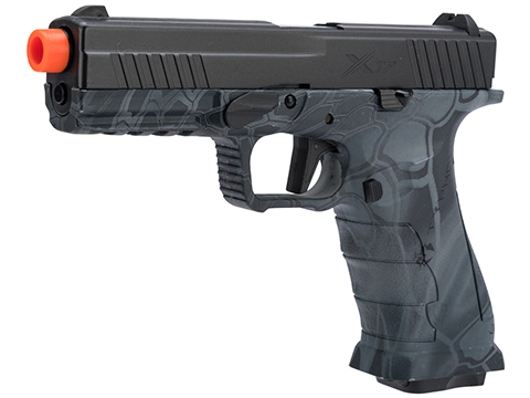 APS XTP Gas Blowback Airsoft Pistol (Color: Kryptek Typhon / CO2)