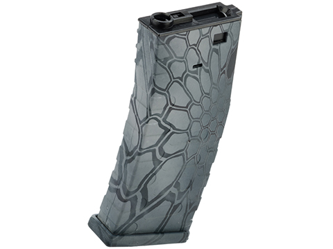 APS 300rd U-Mag Hi-Capacity Magazine for M4 / M16 / UAR Series Airsoft AEG Rifles (Color: Kryptek Typhon)