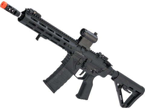 APS Phantom Extremis Mark IX 2.0 eSilverEdge M4 Airsoft AEG with 10 M-LOK Handguard (Color: Black)