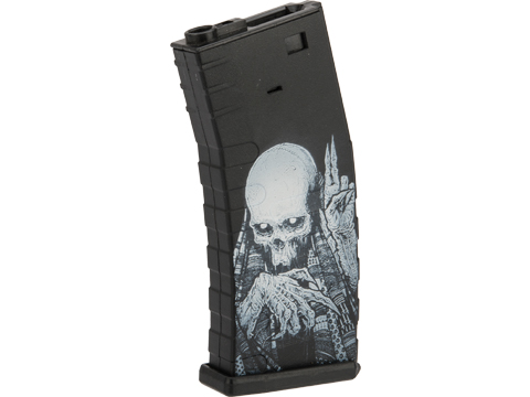 APS 300rd Hi-Capacity Magazine for M4 / M16 / UAR Series Airsoft AEG Rifles (Model: U-Mag / Reaper)