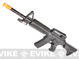 UKArms 2/3 Scale M4 RIS crane stock Airsoft rifle w/ laser