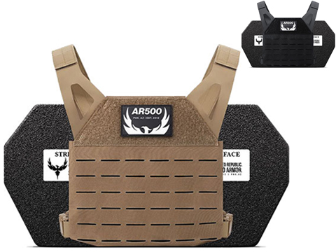 AR500 Armor Freeman Plate Carrier Package