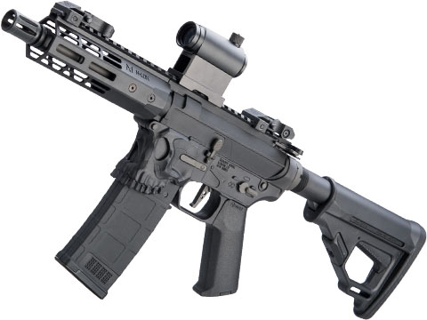 EMG Helios / Sharps Bros Jack Licensed M4 Airsoft AEG Rifle (Model: Black / 7 PDW)