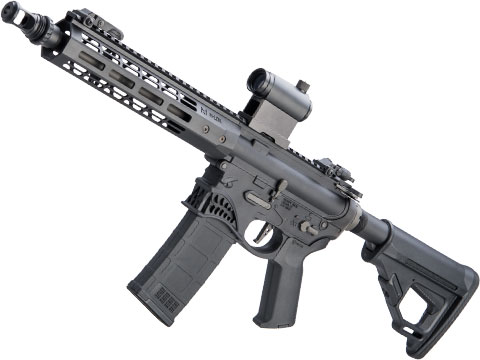 EMG Helios / Sharps Bros Hellbreaker Licensed M4 Airsoft AEG Rifle (Model: Black / 10 SBR)