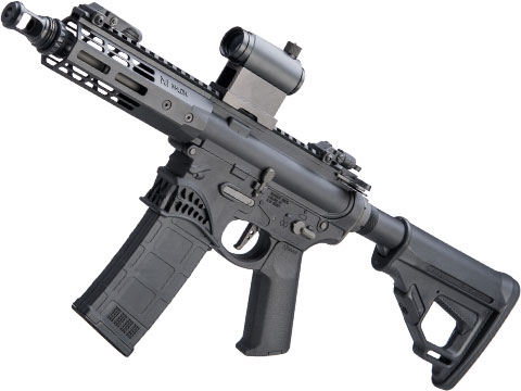 EMG Helios / Sharps Bros Hellbreaker Licensed M4 Airsoft AEG Rifle (Model: Black / 7 PDW)