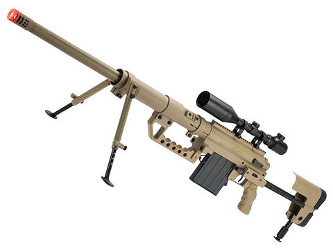 ARES M200 Spring Powered Bolt Action Airsoft Sniper Rifle (Color: Desert)