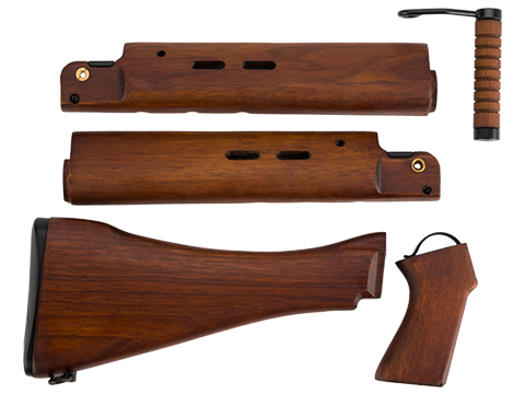ARES L1A1 Wooden Stock, Handguard and Furniture Kit