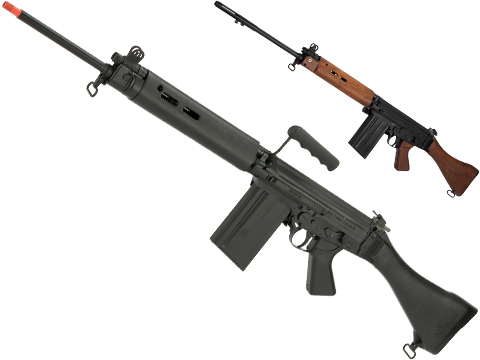 ARES Airsoft Full Size L1A1 Battle Rifle Airsoft AEG (Color: Synthetic Furniture)