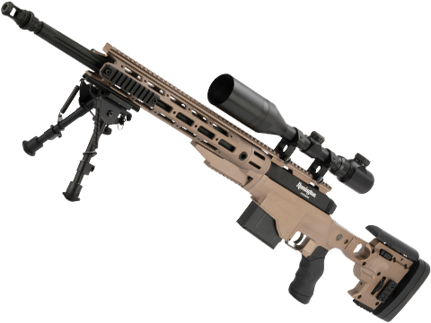 ARES Licensed Remington MSR Bolt Action Spring Powered Sniper Rifle (Model: MSR-338 / Tan)
