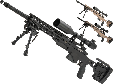 ARES Licensed Remington MSR Bolt Action Spring Powered Sniper Rifle (Model: MSR-700 / Black)