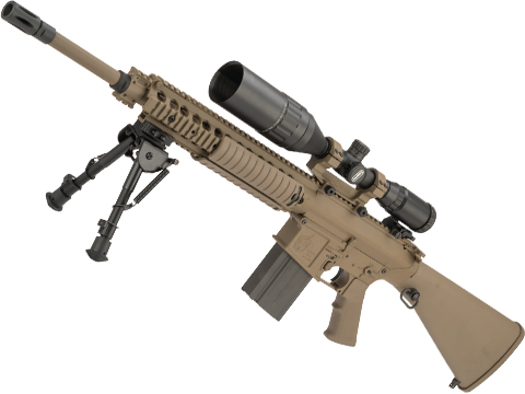 ARES Full Metal SR25-M110 Airsoft AEG DMR (Color: Dark Earth)