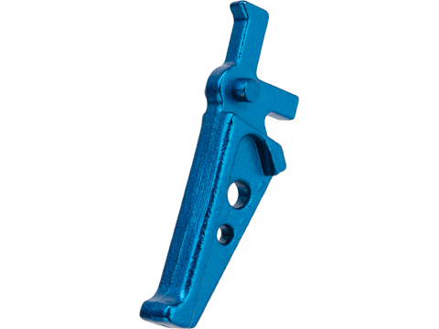 ARES Replacement Flat Faced Competition Style Trigger for M4 / M16 Series AEGs (Color: Blue)