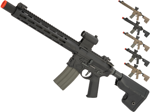 EMG / Sharps Bros Warthog Licensed Advanced M4 Airsoft AEG Rifle with Super High Torque Slim Motor Grip