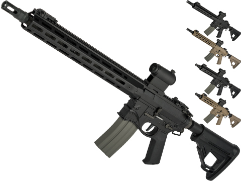 EMG / Sharps Bros Hellbreaker II Licensed Advanced M4 Airsoft AEG Rifle with Super High Torque Slim Motor Grip