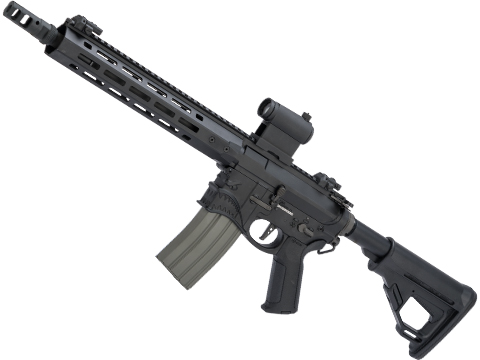 EMG / Sharps Bros Hellbreaker II Licensed Advanced M4 Airsoft AEG Rifle (Color: Black / 10 SBR / 350 FPS)