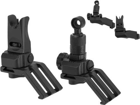 ARES 45 Degree Offset Flip-up Sight Set