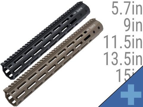 ARES Octarms M-LOK Rail System for M4 / M16 Series Airsoft AEG Rifles